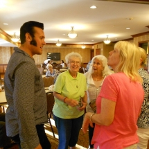 Elvis Presley, National Night Out, Arbor Lakes Senior Living, Maple Grove, MN