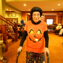 Halloween Party at Arbor Lakes Senior Living