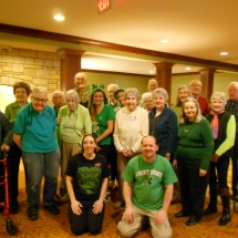 St. Patrick's Day at Arbor Lakes Senior Living