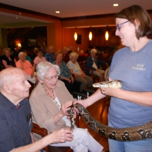 Animal Show at the Arbor Lakes Senior Living