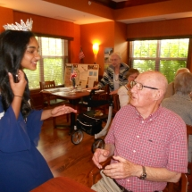 Miss Teen MN at the Arbor Lakes Senior Living