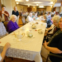 Seniors having fun at Arbor Lakes Senior Living