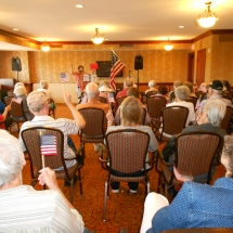 4th of July at the Arbor Lakes Senior Living