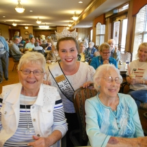 National Night Out-Arbor Lakes Senior Living-Maple Grove representatives
