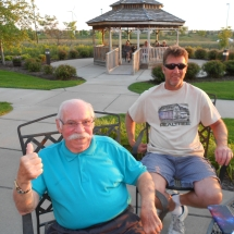Outdoor Concert-Arbor Lakes Senior Living (1)