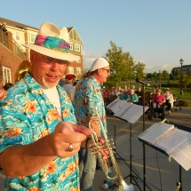 Outdoor Concert-Arbor Lakes Senior Living (2)