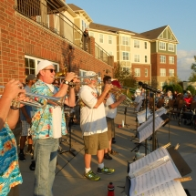 Outdoor Concert-Arbor Lakes Senior Living (3)