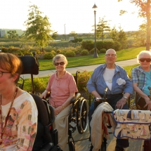 Outdoor Concert-Arbor Lakes Senior Living (9)