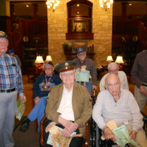 World War II Vets at Arbor Lakes Senior Living