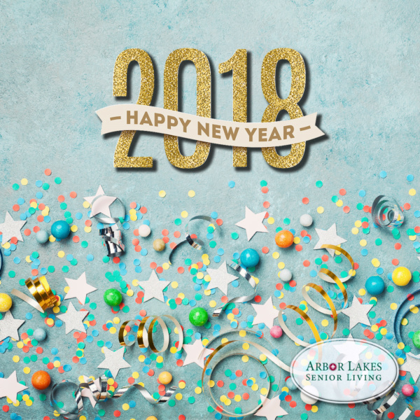 Happy New Year from Arbor Lakes Senior Living