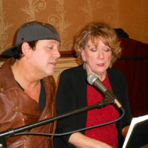 Tim Mahoney and Kathy Mahoney in concert at Arbor Lakes Senior Living