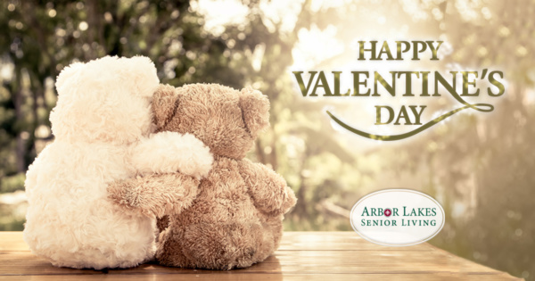 Happy Valentine's Day - Arbor Lakes Senior Living!