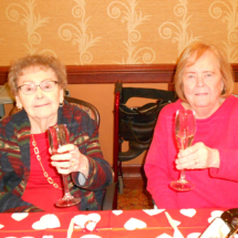 Champagne and Chocolate Buffet at Arbor Lakes Senior Living