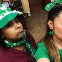 St. Patrick's Day at Arbor Lakes Senior Living
