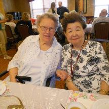 Mother's Day Tea at Arbor Lakes Senior Living 2018