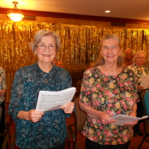 Arbor Lakes Senior Living Choir
