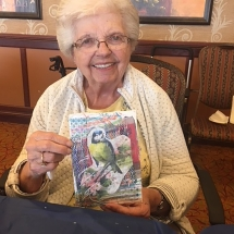 Art with Jill at Arbor Lakes Senior Living
