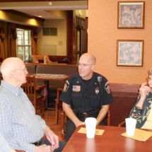 Coffee with Cops