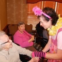 Satin Dolls Perform for Arbor Lakes Senior Living