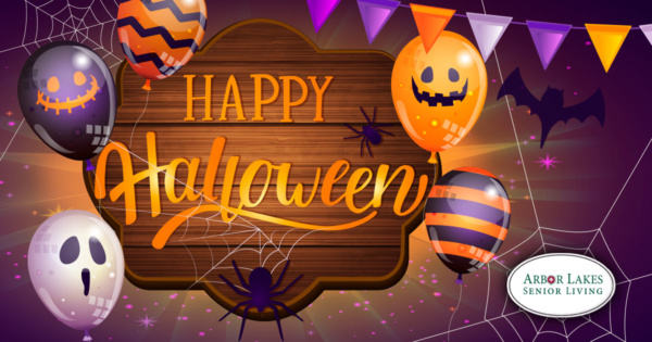 Happy Halloween from Arbor Lakes Senior Living
